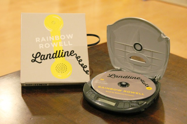 Rainbow Rowell Landline Audiobook Book Review Book Cover