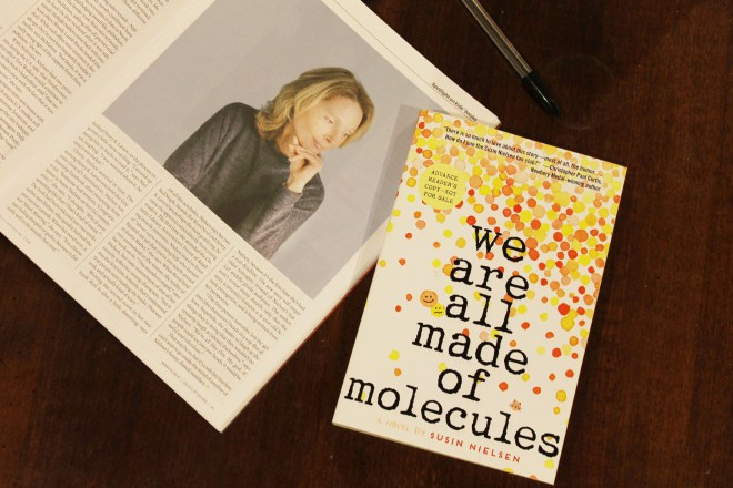 We Are All Made of Molecules Susin Nielsen Book Cover Review Quill and Quire